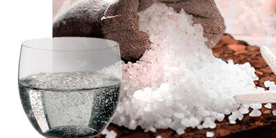 Укрепление ногтей дома морской солью