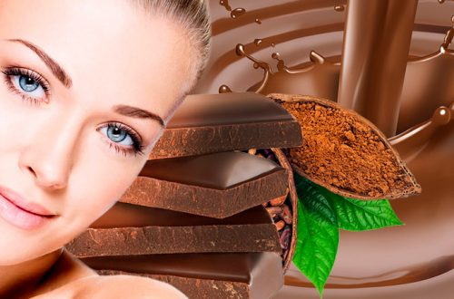 Шоколад в косметологии