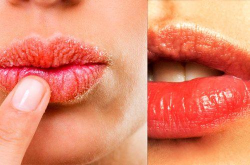 скраб для губ в домашних условиях