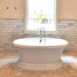 Ванна отдельно в интерьере не практично