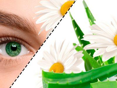 Маски и компрессы вокруг глаз
